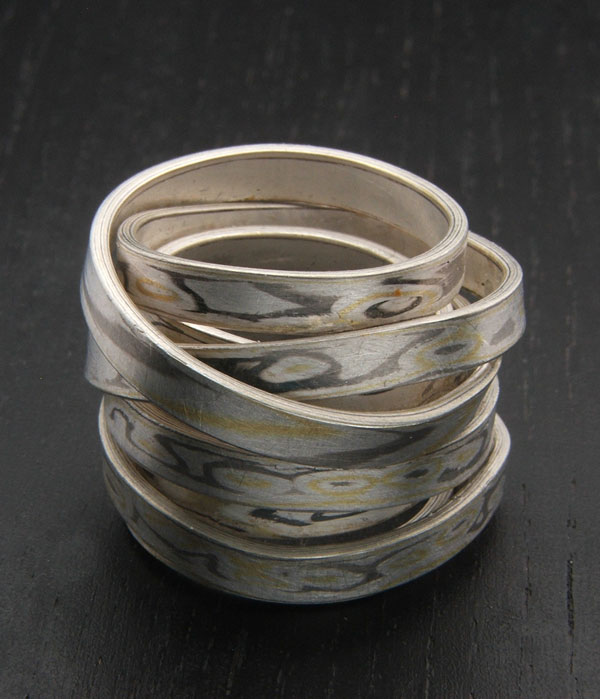 Ring Ag935 / Pd950 / Gg917